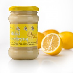 Creamed honey with lemon
