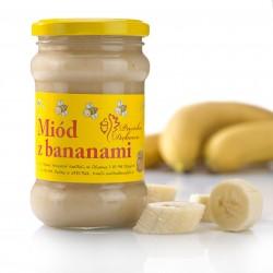Banana-Chips im Honig