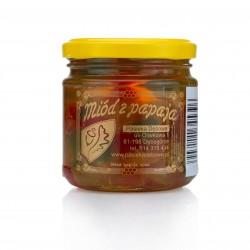 Papayafrüchte im Honig