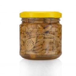 Miód z orzechami ziemnymi- masa netto 240g.